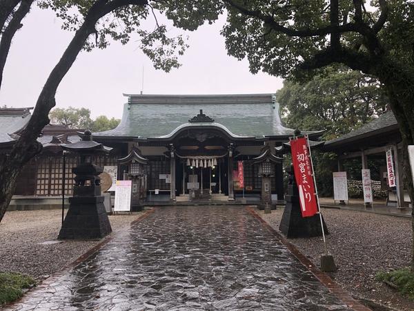 四山神社 月初参拝 -大牟田市荒尾市の不動産売買専門-