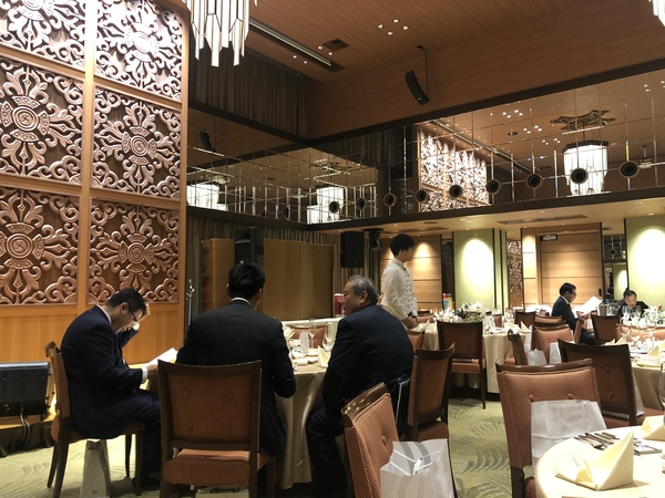 NKグループ様の忘年会へ -大牟田市荒尾市の不動産売買専門-