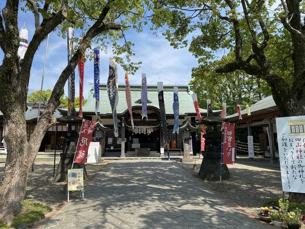 熊野神社、四山神社へ参拝。 -大牟田市荒尾市の不動産売買専門-
