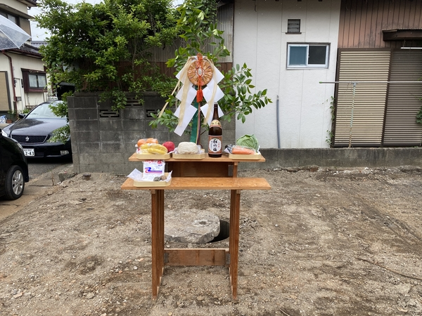 井戸埋設のお祓い -大牟田市荒尾市の不動産売買専門-