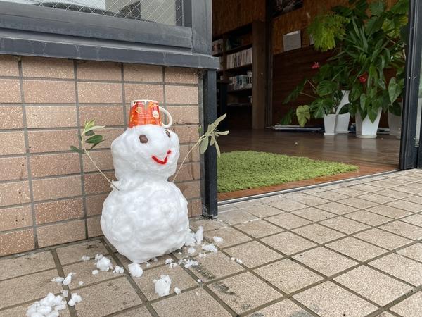 雪が! -大牟田市荒尾市の不動産売買専門-