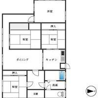 大牟田市白銀 平家建住宅のサムネイル
